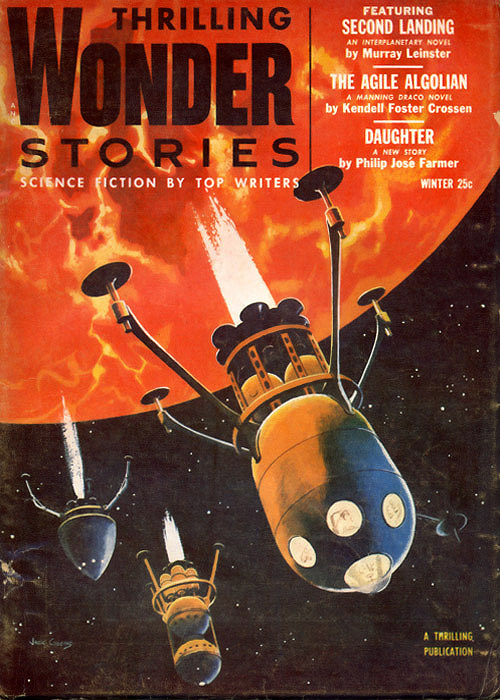 Click here to go to Thrilling Wonder Stories covers